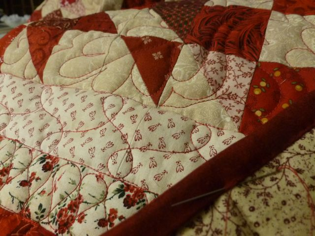 Quilting Scrap Dance Waltz ~ From My Carolina Home
