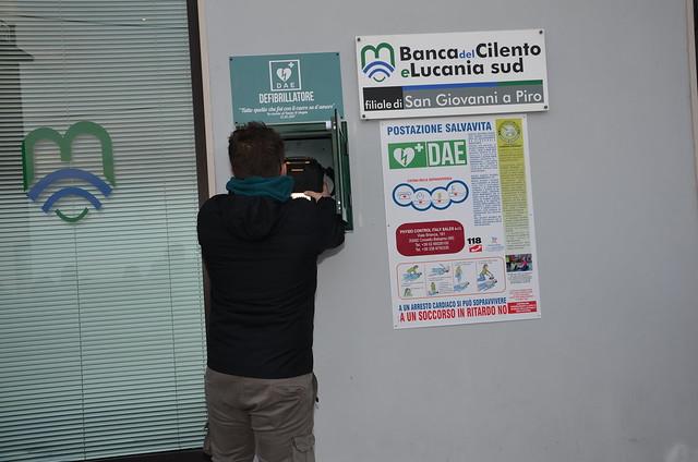 Un defibrillatore in ricordo di Tonino D'Angelo