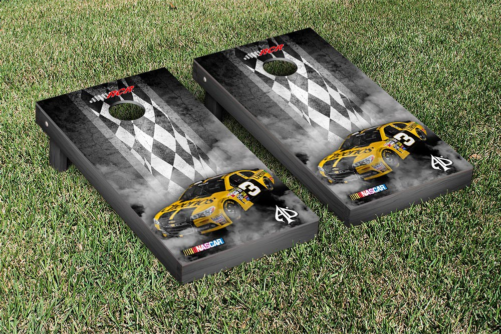 AUSTIN DILLON #3 CORNHOLE GAME SET PITT ROW CHEERIOS VERSION