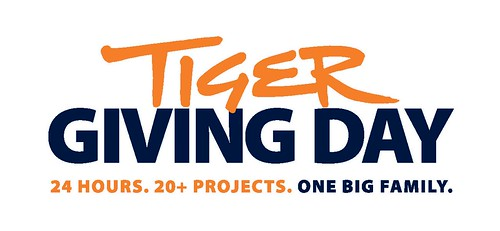 Auburn University Tiger Giving Day promotional logo.