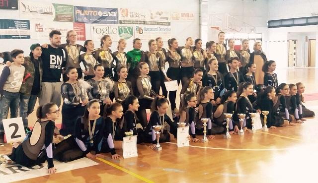 Noicattaro. Campionato regionale pattinaggio intero1