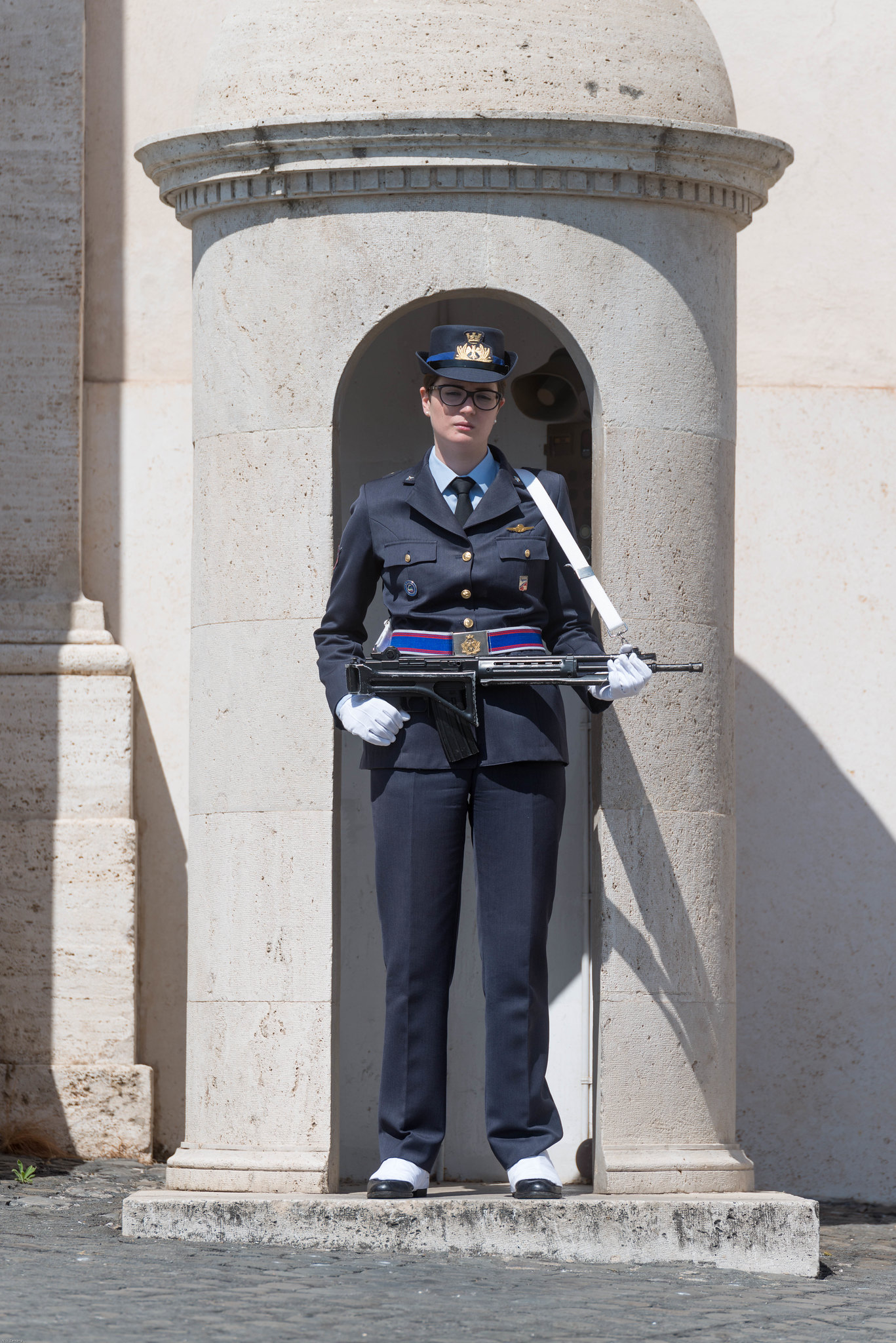 Rome armed military guard