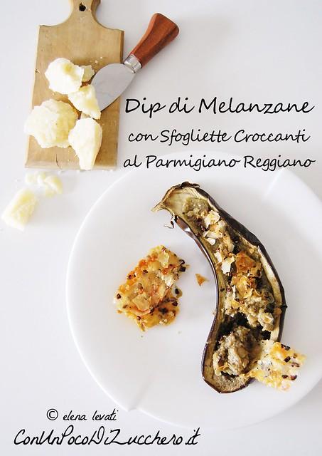 Dip di melanzane - Eggplant dip