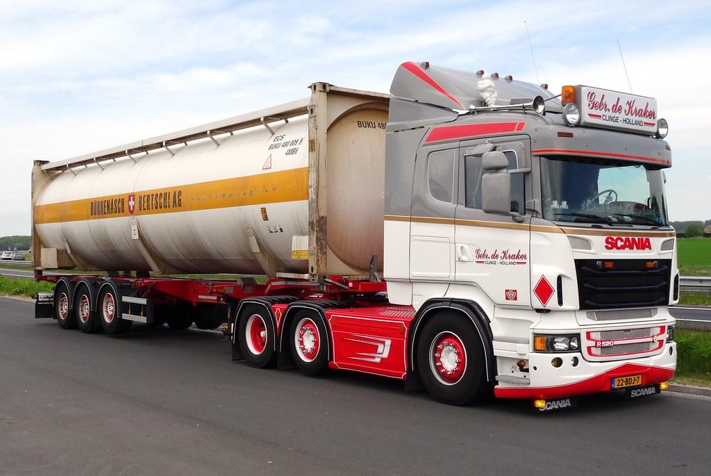Scania R520 Gebr De Kraker Clinge Bij Ijzendijke