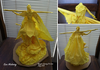 Origami Sun Wukong | by lisa.nqd
