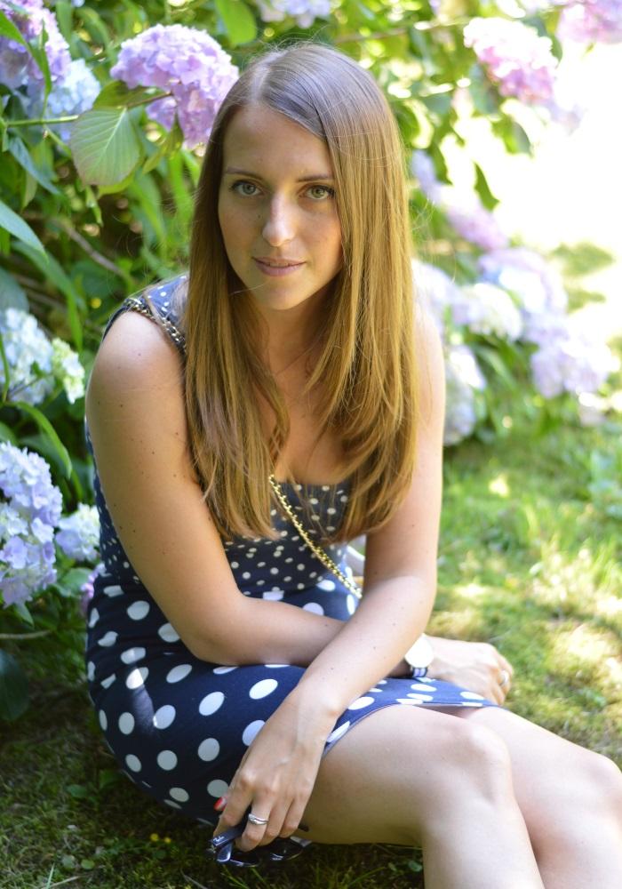 pois, wildflower girl, ortensie, look, fashion blog (6)