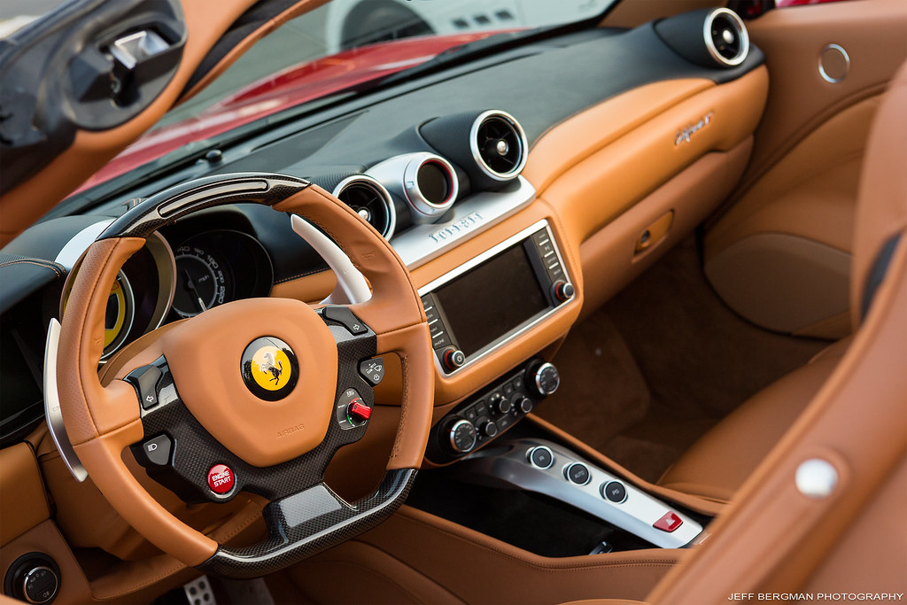 Ferrari California T Interior | Cars & Decaf @The Fireplace … | Flickr