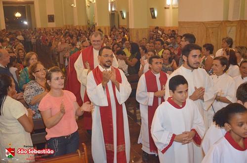 Última trezena e missa da Festa de São Sebastião em Ipu