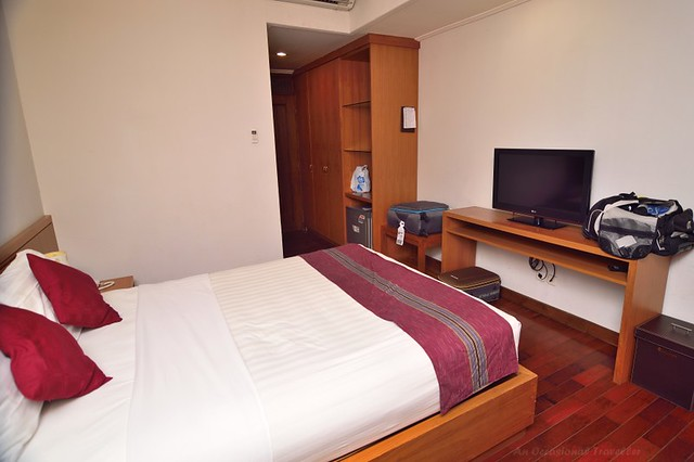 Rooms are equipped with basic amenities such as flat screen TV