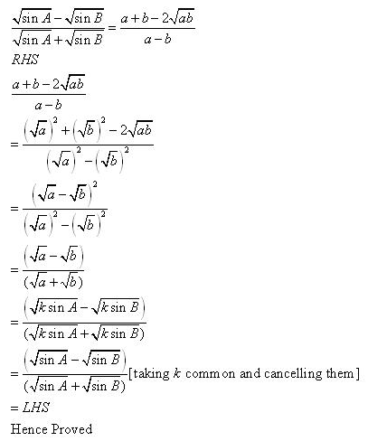 RD-Sharma-Class-11-Solutions-Chapter-10-sine-and-cosine-formulae-and-their-applications-Ex-10.1-q13