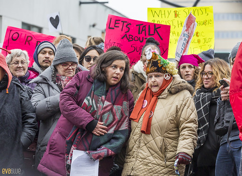 manif des femmes women's march montreal 48 | by Eva Blue