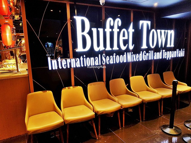 Buffet Town Signage