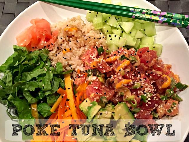 Poke Tuna Bowl