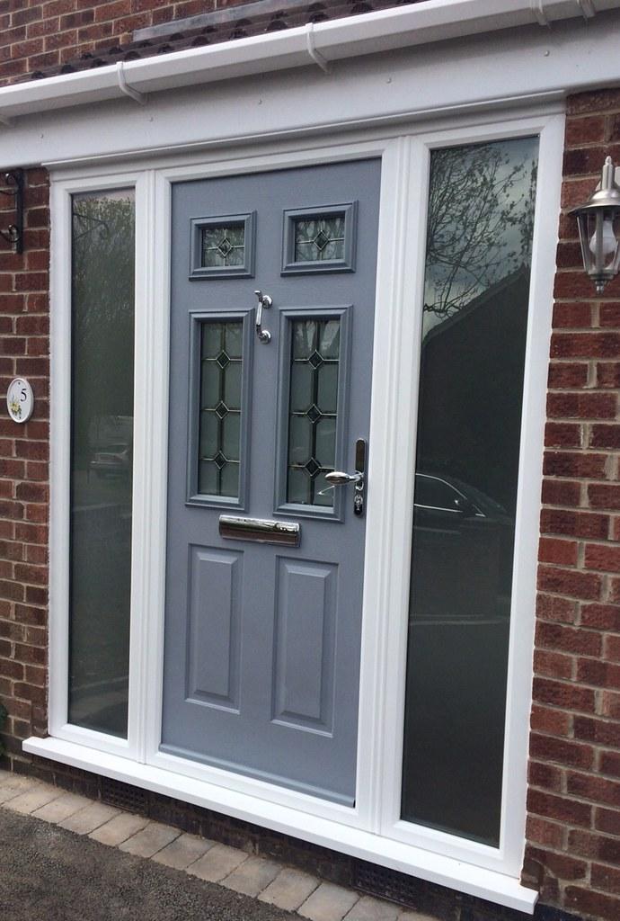 Solidor composite doors nottingham french grey solidor for Grey french doors uk