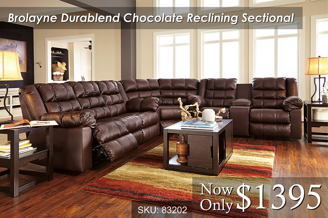 Brolayne Chocolate Sectional