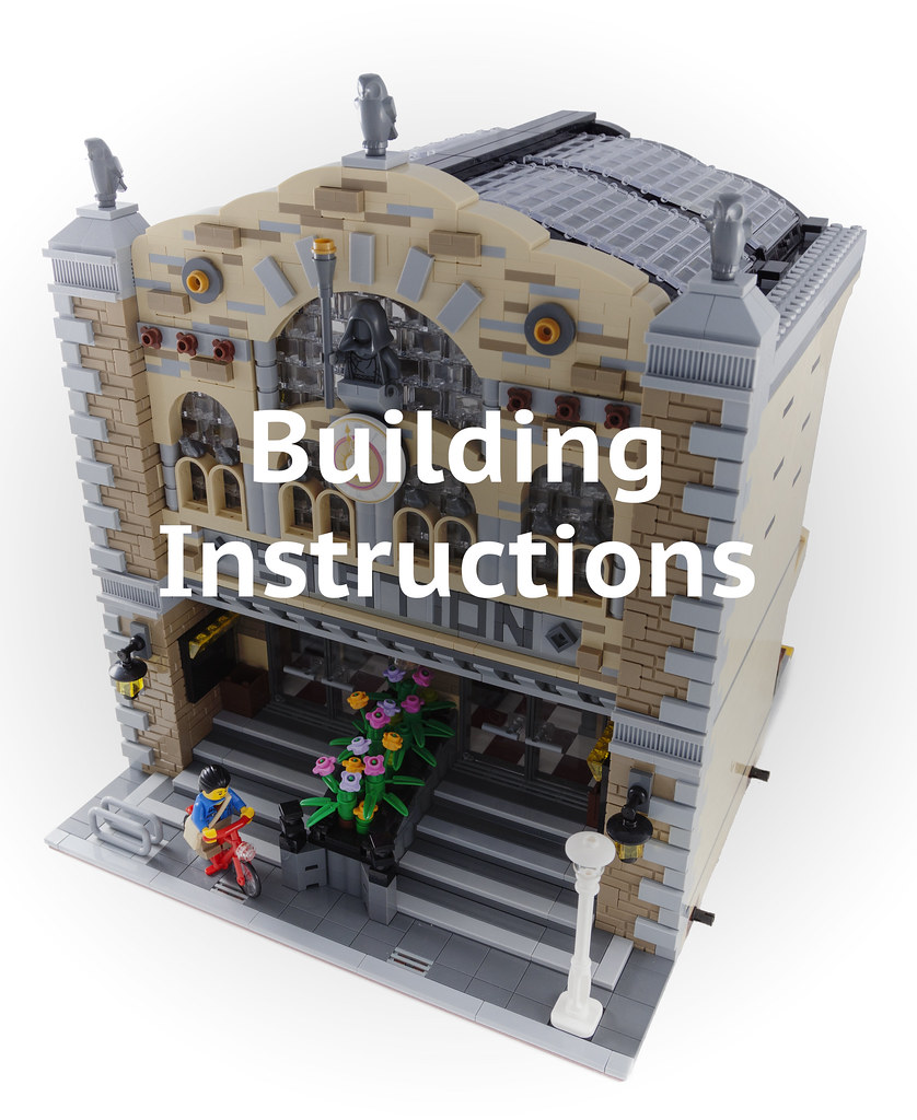 Building Instructions Now That My Modular Train Station Ha Flickr