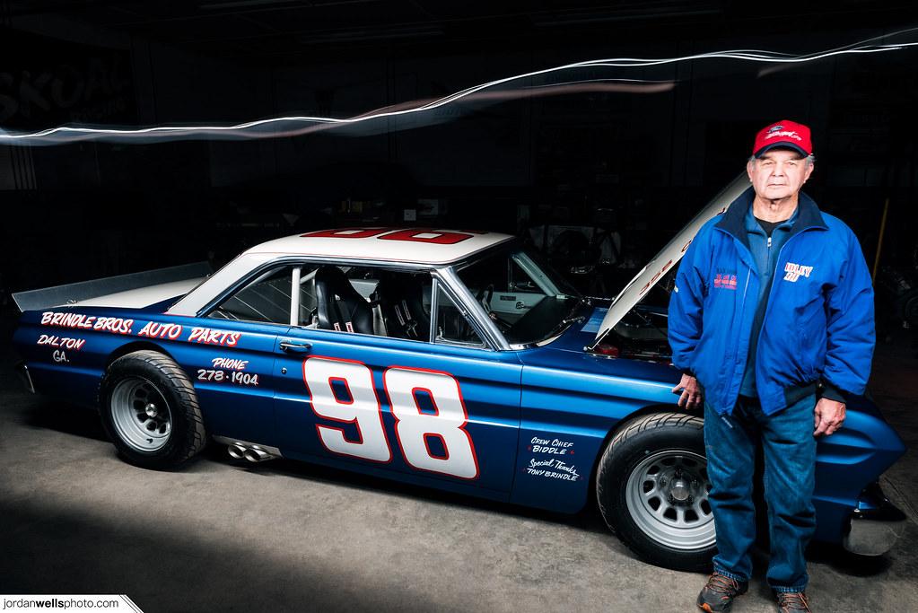 NASCAR Legend Jody Ridley & his '64 Ford Falcon | Jordan ...