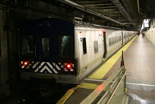 Metro-North Railroad M7A series in Grandcentral station, New York, New York, US /Jan 24, 2017