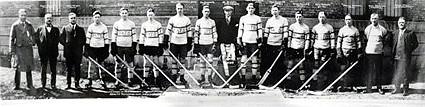 1924-25 Regina Pats team