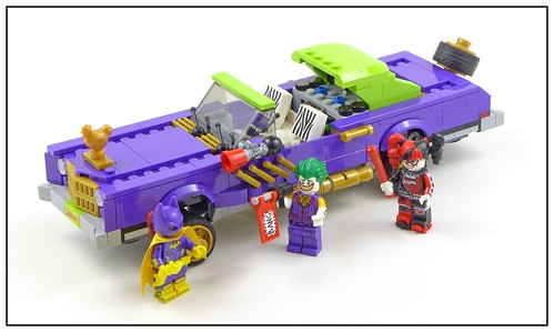 The LEGO Batman Movie 70906 The Joker Notorious Lowrider 10