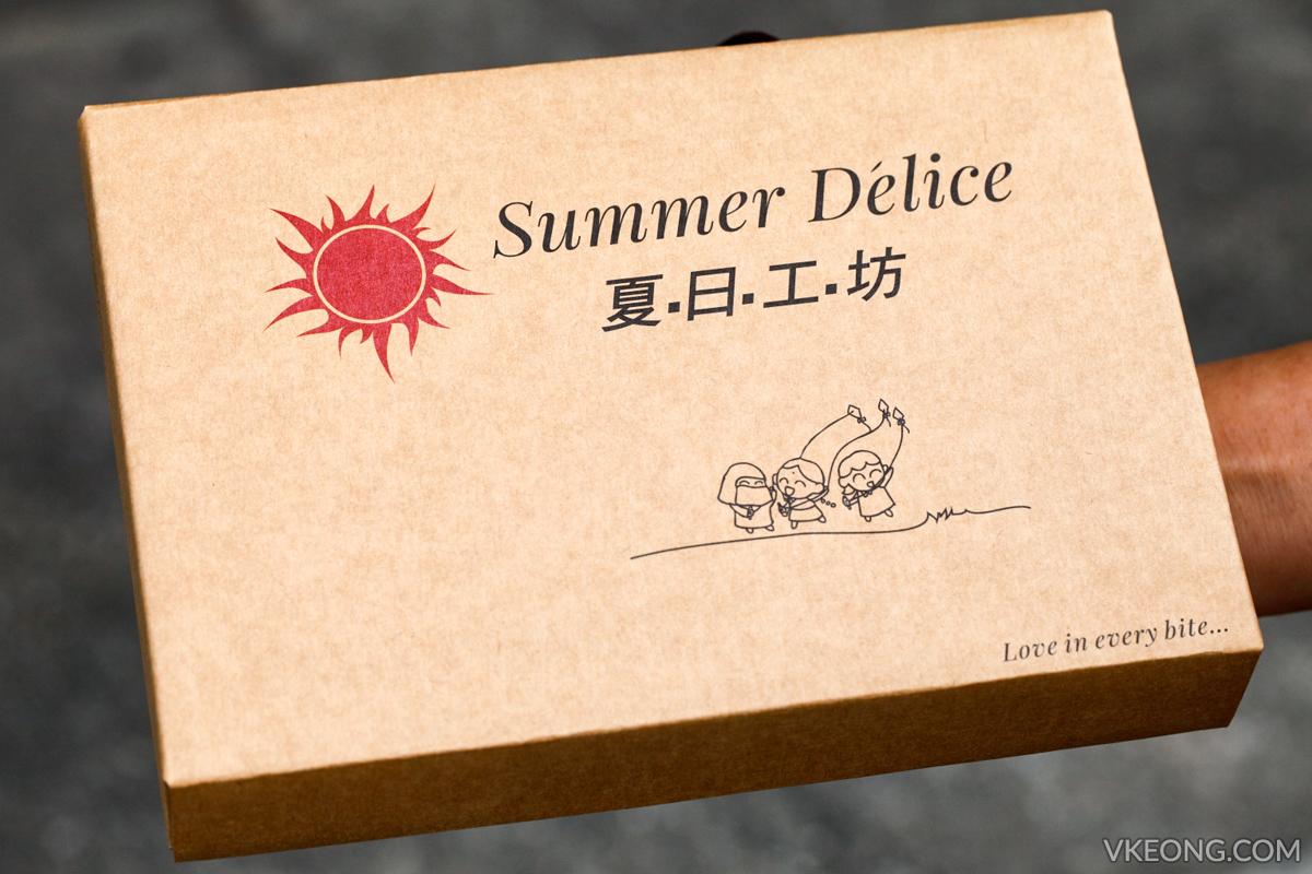 Summer Delice Macadamia Tart Box