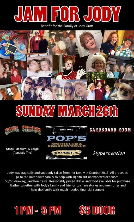 Jam For Jody 3-26-17