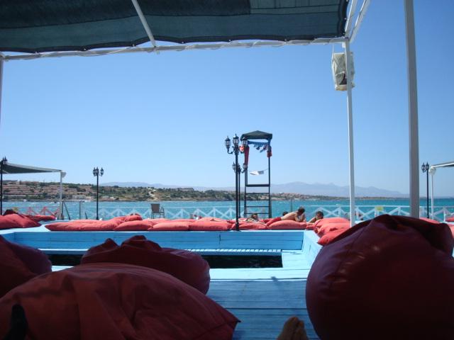 土耳其海邊的艷陽風光