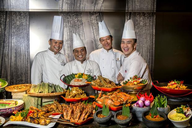 Chef Zamzani and InterContinental Kuala Lumpur Chefs