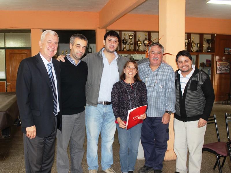 Cañada de Gómez - Entrega de escrituras, en el marco del Programa de Regularización Dominial de Viviendas que impulsamos junto a los concejales Mauroni, Travaglino y Chale.
