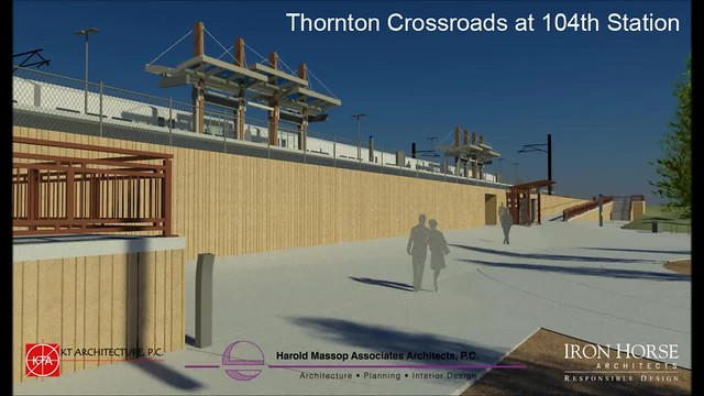 North Metro 104th Station Video Rendering