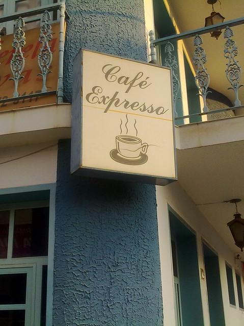 Expresso ou Espresso?