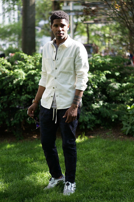 Menswear Summer layering