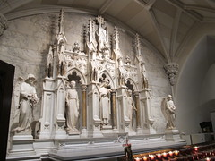 A St. Patrick's Catherdral Alter Niche