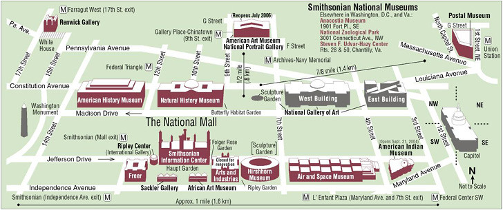 Map Of Smithsonian Museums Map of the Smithsonian Museums on the National Mall | Flickr Map Of Smithsonian Museums
