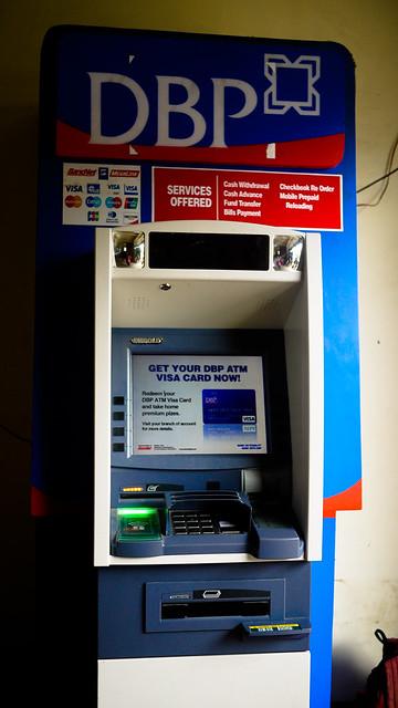 ATM in Sagada
