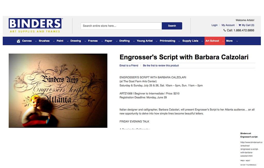 Binders | Engrosser\'s workshop in Atlanta | barbara calzolari | Flickr