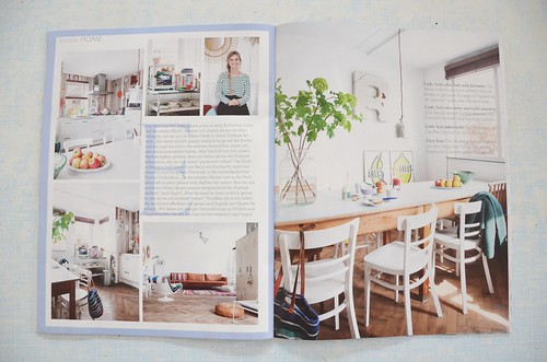 publication sweet living magazin