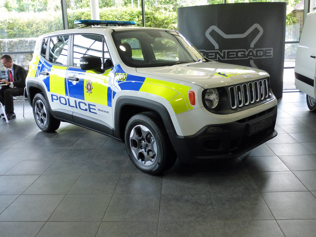 Jeep Renegade Police Car >> Jeep Renegade | Wiltshire Police 260 Jeep Renegade Blue and … | Flickr