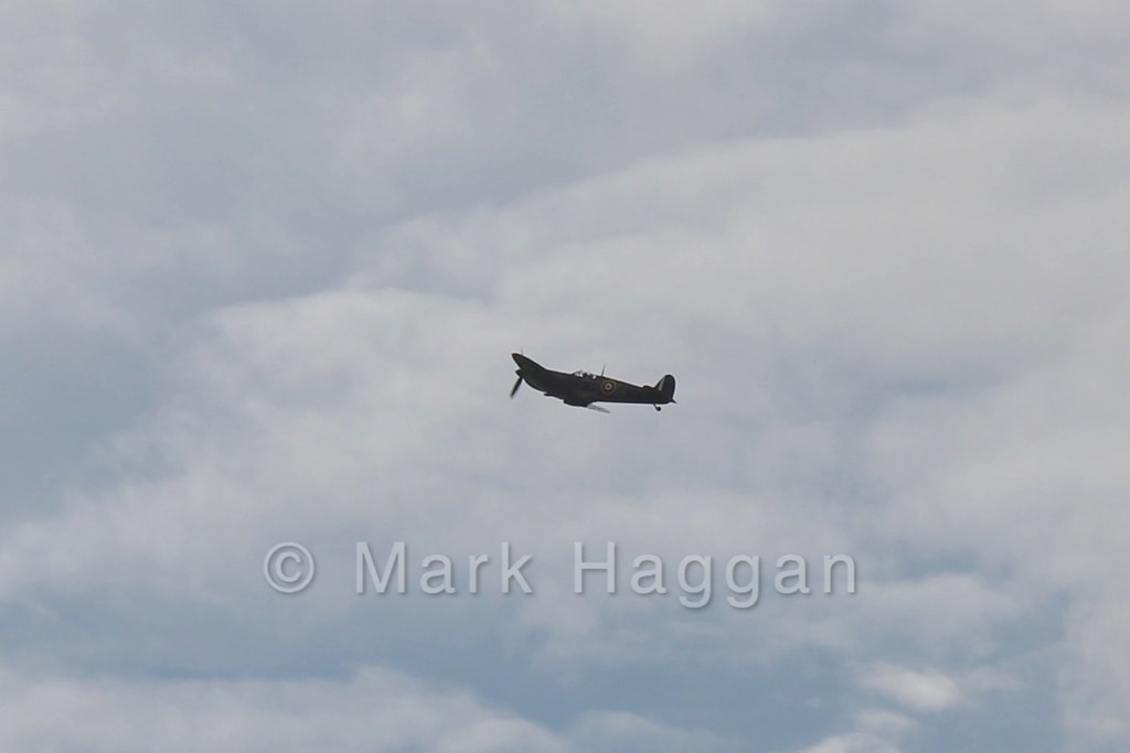 A Spitfire from the Battle of Britain Memorial Flight