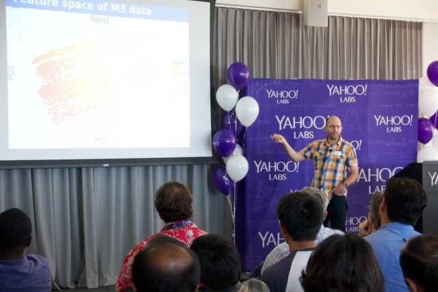 Dr. Rob Hyndman at Yahoo for #BigThinkers