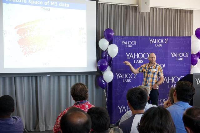 Dr. Rob Hyndman at Yahoo for #BigThinkers