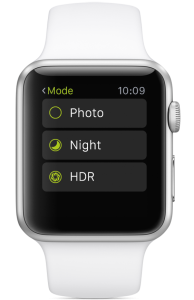 Apple Watch Remote Trigger for ProCamera 8