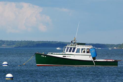 Portland maine k3 018 locked on fishing boat view from for Portland maine fishing