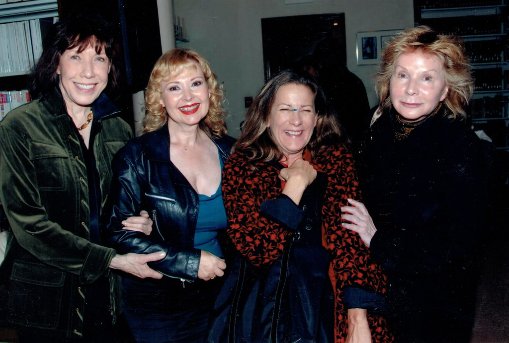 Photo of Lily Tomlin & her friend  Donna Locke