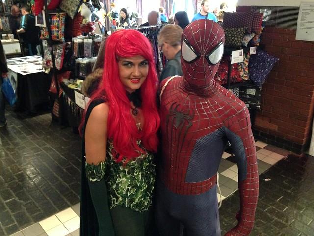 Preston Comic-Con 2015 - Poison Ivy & Spider-Man