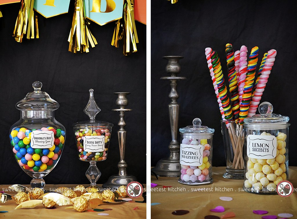 Harry Potter 10th Birthday Party Lollies And Ferrero