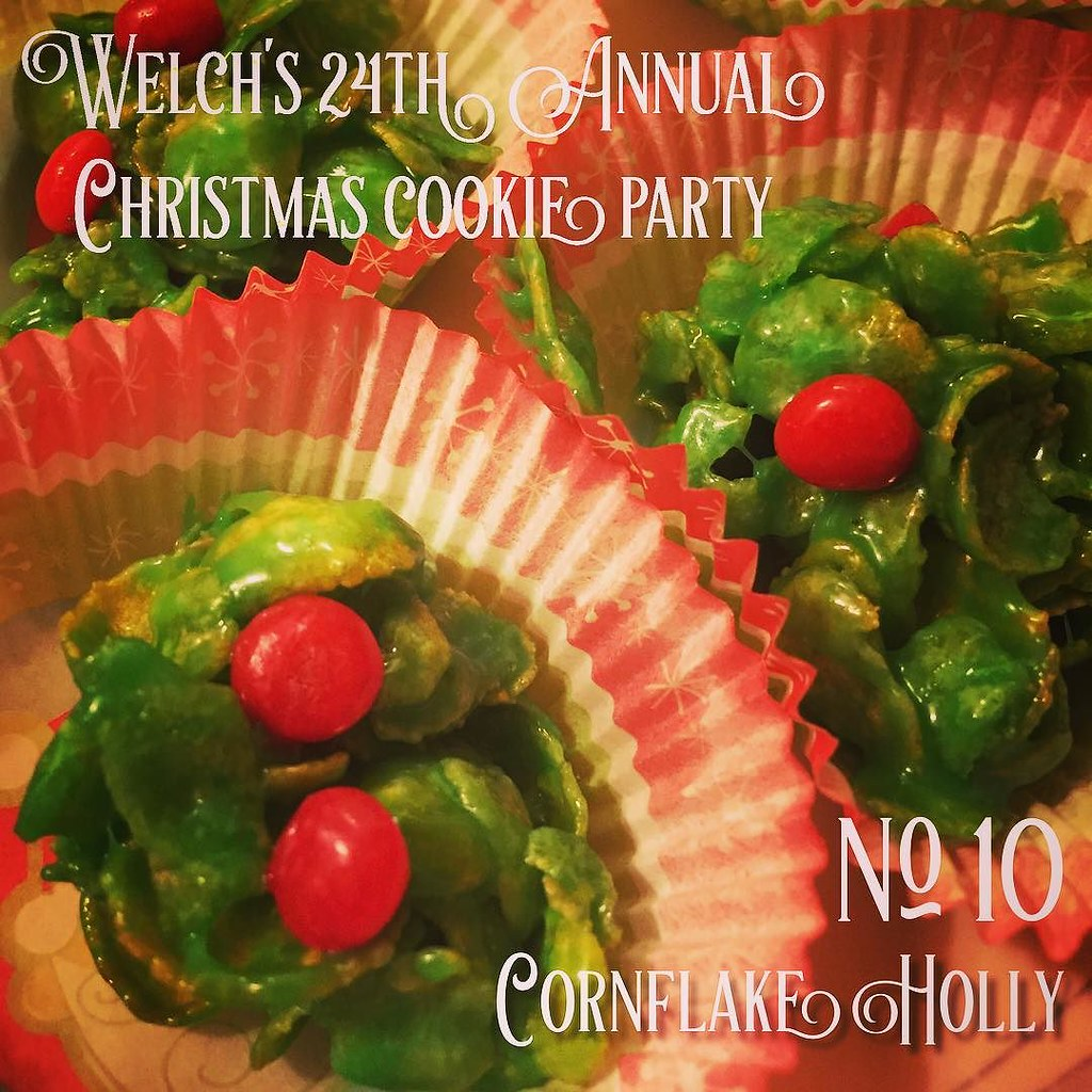 No 10 Cornflake Holly Welch S 24th Annual Christmas Co Flickr
