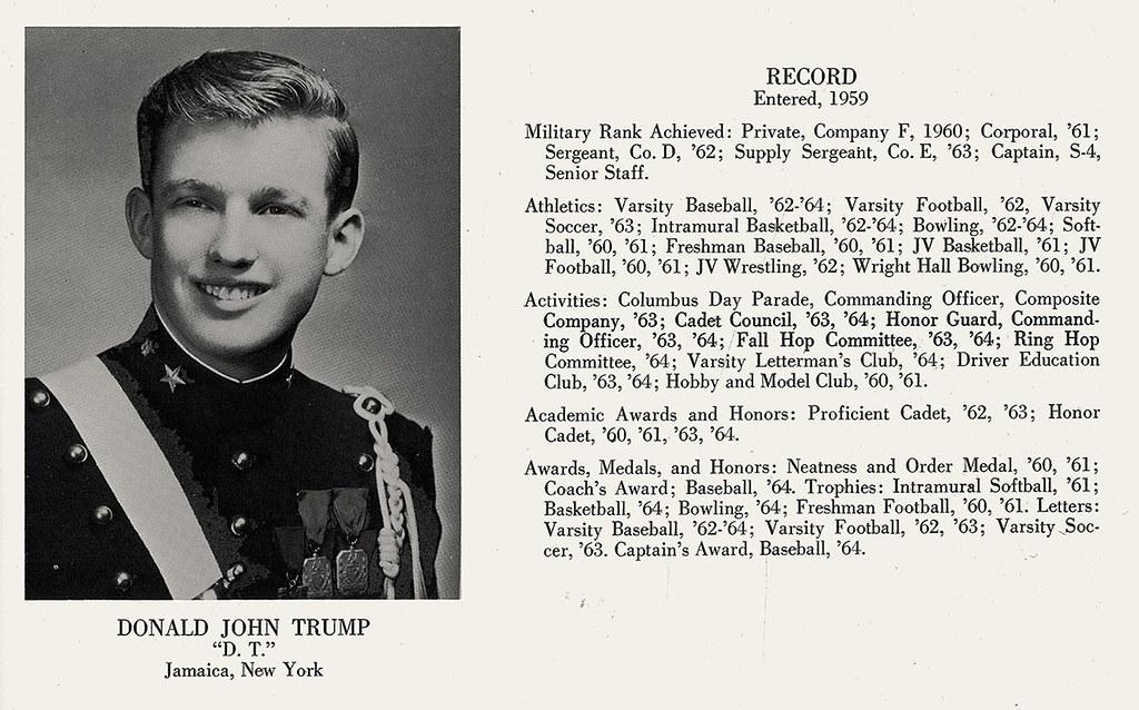Cadet Trump