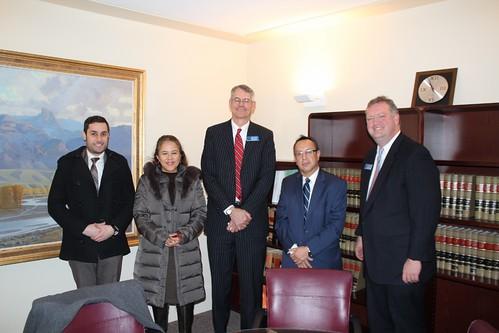 Consulado de México en Denver se reúne con Procurador General de Wyoming