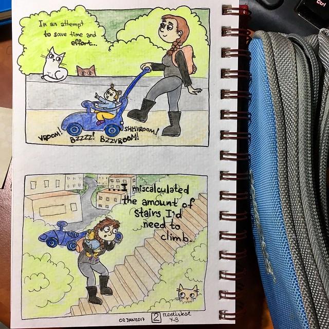 Comic diary 2